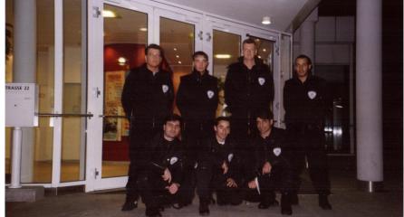 Sicherheitsdienst Mitarbeiter